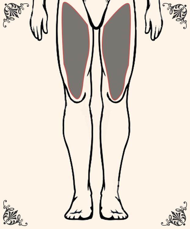 ひざ上(両足)の脱毛
